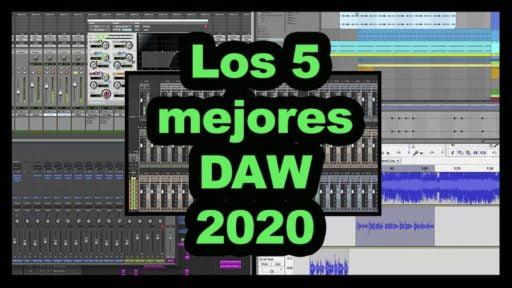 5 mejores DAW 2020
