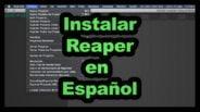 instalar reaper en español
